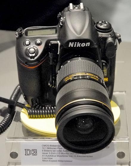 Nikon D3 with 24-70mm Lens
